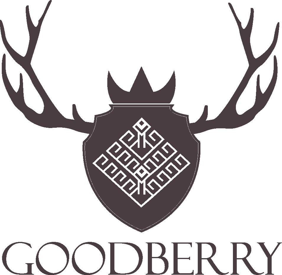 Logo & Wording Brown PNG